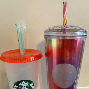 Limited edition Starbucks summer tumbler